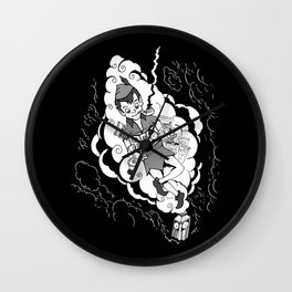 High Meditation Wall Clock
