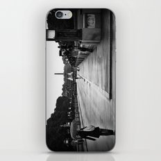 Vigeland Park in the Rain iPhone & iPod Skin