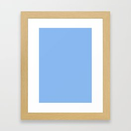 Jordy blue Framed Art Print