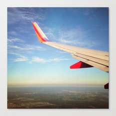 Flying the Friendly Sky Canvas Print
