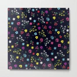 Floral dream mini Metal Print