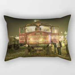 Sentinel Steam Bus by night  Rectangular Pillow