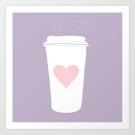 Ode To Coffee Art Print