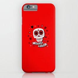 Sugar Rush Red Passion iPhone Case
