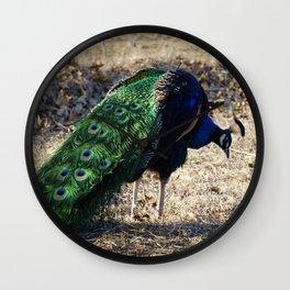 Peacock 2 Wall Clock