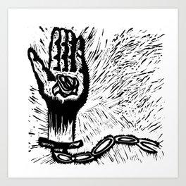 Free Your Chain Art Print