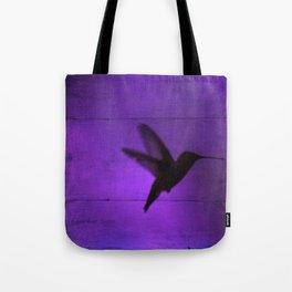 Razzleberry Hummingbird by CheyAnne Sexton Tote Bag