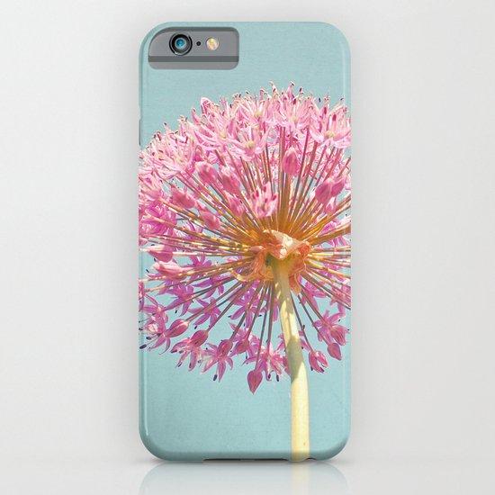 Pink Allium iPhone & iPod Case