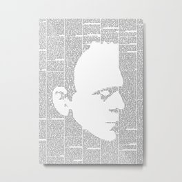 Frankenstein - The Modern Prometheus Metal Print