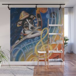 Jazz to the Bone Wall Mural