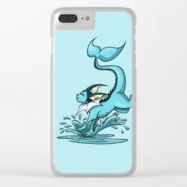 Vaporeon Clear iPhone Case