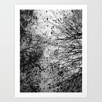 leaves Art Prints featuring Branches & Leaves by David Bastidas