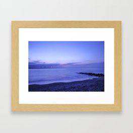 NORDIC TWILIGHT Framed Art Print