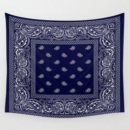 Bandana - Navy Blue - Southwestern Wall Tapestry