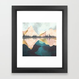 Summer Reflection Framed Art Print
