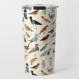 Great collection of birds illustrations  Travel Mug