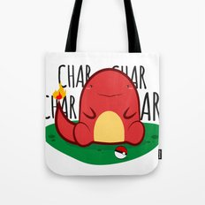 Char-Char-Char Tote Bag