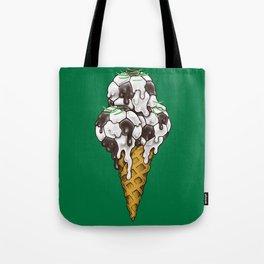 Ice Cream Soccer Balls Tote Bag