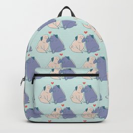 Pugs and Kisses Backpack