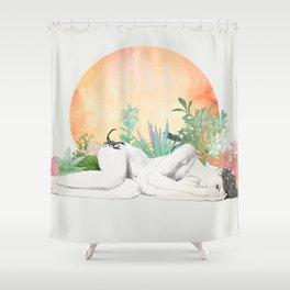 Born In The Sun (Scorpio) Shower Curtain