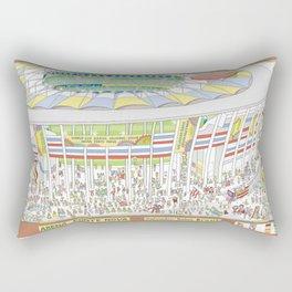 Fonte Nova Arena, Salvador, Bahia, Brazil Rectangular Pillow