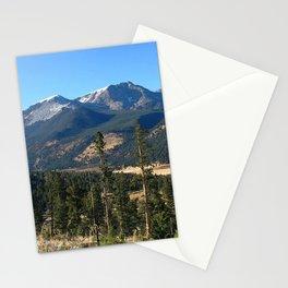 Watercolor Landscape, Deer Mountain 01, RMNP, Colorado Stationery Cards