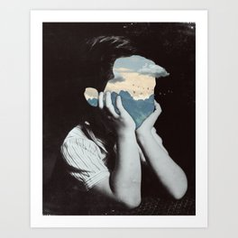 Deepness Art Print