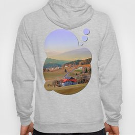 Country road in amazing panorama | landscape photography Hoody