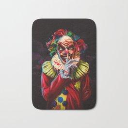 Scariest Clown Bath Mat