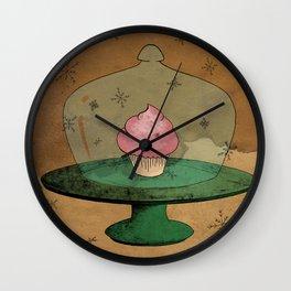 - Winter Cupcake - Wall Clock