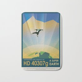 NASA Visions of the Future - Experience the Gravity of HD 40307g Bath Mat