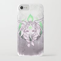 baphomet iPhone & iPod Cases featuring Baphomet V3 by Savannah Horrocks