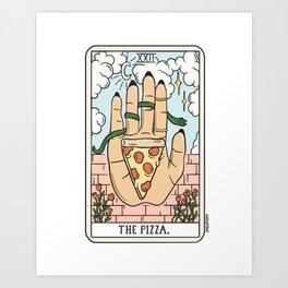 PIZZA READING (LIGHT) Kunstdrucke