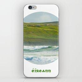 Ireland written in Gaelic - Eireann iPhone Skin