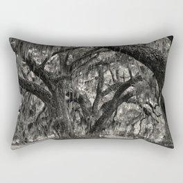 Live Oaks with Spanish Moss, Georgia Rectangular Pillow