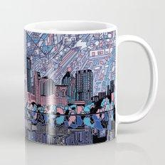 austin texas city skyline Mug