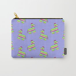 Pinata Pattern Purple Carry-All Pouch