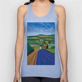 Lavender Farm Unisex Tank Top