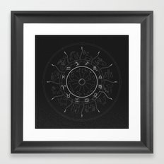 Zodiac Framed Art Print