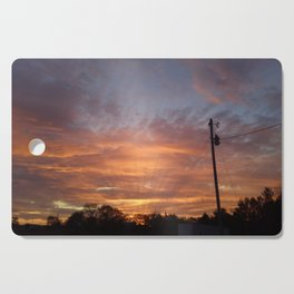Sunset in Bell Buckle Cutting Board