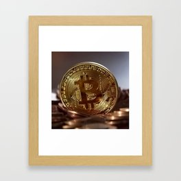 Bitcoin Framed Art Print