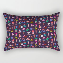 Free the Shape Free The People Rectangular Pillow