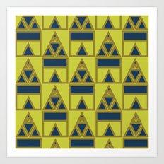 Pattern Print Edition 1 No. 8 Art Print