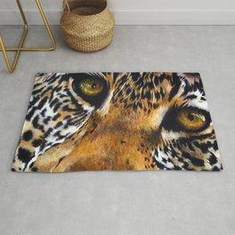 Deep - Leopard Painting Rug