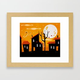 A Haunting We Will Go Framed Art Print