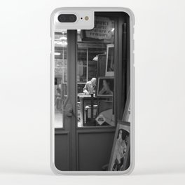 Restoration shop Clear iPhone Case