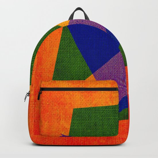 Abstract pattern Contemporary Backpack