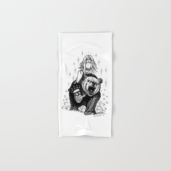 The marvelous couple Hand & Bath Towel