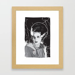 Bride of Frankenstein Framed Art Print