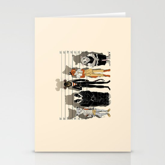 Unusual Suspects Stationery Cards